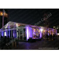 Cheap 15x20M Transparent Cover Outdoor Party Tents Hard Extruded Aluminum Alloy wholesale