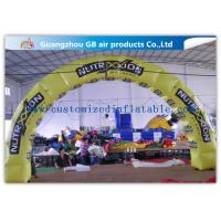 China Pvc Tarpaulin Inflatable Tire Arch Promotion For Tyre Entrance Arch on sale