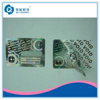 Buy cheap Warranty Custom Hologram Stickers , Tamper Evident Holographic Warranty VOID If from wholesalers