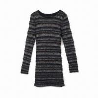 Cheap Long Lurex Strip Pullover/Sweater for sale