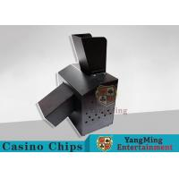Cheap Black Automatic Casino Game Accessories For Cutting Off Broken Poker Cards for sale