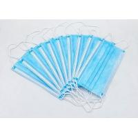 Cheap High Filtration Disposable Face Mask Odorless High Fluid And Respiratory Protection for sale