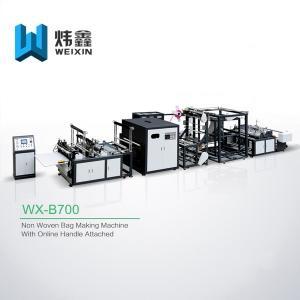 Cheap High Class D Cut Bag Making Machine / High Output Box Bag Making Machine for sale