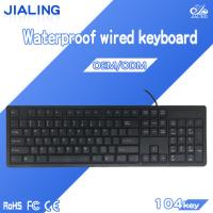 China china wholesale market full size waterproof usb keyboard for Computer PC Laptop on sale
