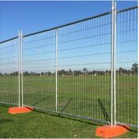 Buy cheap High Quality 2.4X1.8m Temporary Fence And Removable Temp Fencing With Best Price from wholesalers