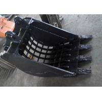 0.5 Cum Komatsu Excavator Skeleton Bucket With Heavy Duty Interlocking Ribs