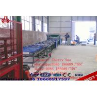 Cheap Lightweight Eps Cement Wall Panel Making Machine Full Automatic Demouling Type for sale