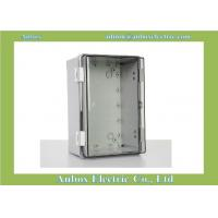Cheap 300x200x170mm ip66 PC clear electrical control box IP66 for sale