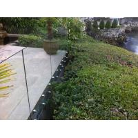 Cheap Inox stainless steel patch fitting / standoff glass railing for exterior use for sale