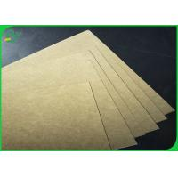Cheap Great Stiffness 250gsm - 400gsm 70*100cm Brown Kraft Board For Packages for sale