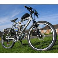 Cheap 50CC Hybrid Power Assisted Bicycle With Single Cylinder 2 - Stroke for sale