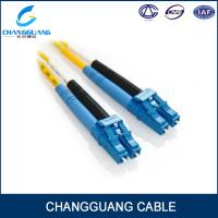 Changguang FTTH indoor cable Low insertion loss single/multi mode fiber patch cord