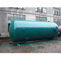 Cheap Super Insulation Vertical Air Tanks , Dual - Axle Pressure Vessel Tanks for sale