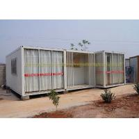 Cheap 20Ft / 40Ft Container House Folding Container Homes Cold Formed Steel Profile for sale