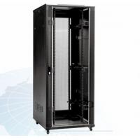 China Indoor 22U Home Network Rack Cabinet Vented IP20 In RAL 9004 on sale