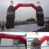 Cheap Inflatable Arch Door For Cocacola Opening Celebration for sale