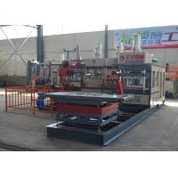 China Automatic Pulp Molding Machine Tableware Paper Plate Production Line One Year Warranty on sale