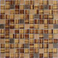 China different shape crystal glass mosaic tile mix color on sale