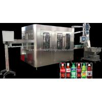 Buy cheap Carbonated Water Production Plant, Fizzy Drink, Isobaric Water Filling Machine from wholesalers