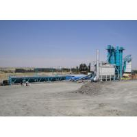 Cheap 80T Hot Aggregate Silo Asphalt Plant With 300000 Batches Mixing Blade Life Time for sale
