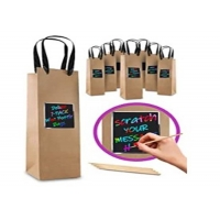 Cheap Customized wine bag by material, printing, size for sale