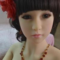 Hot Sale Small Chest 158CM Height Closed Eyes Face Real Silicone Love Doll For Men