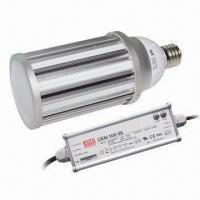China 100lm/W LED Corn Light, Replaces 250W HPS, Used in Warehouse, with 60W Power on sale