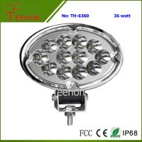 Cheap 36W Oval Shape LED Working Lamp for SUV and MPV for sale