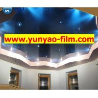 China PVC stretch ceiling film ceiling decoration Galaxy film on sale