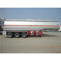China 50000liter 3 Axles Water Tank Trailer with Pump on sale