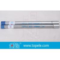 """Quality 3/4"""" Hot-dipped Galvanized BS4568 Conduit / GI PIPE With Integral Coupling wholesale"""