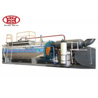 Cheap Three Pass Horizontal Steam Boiler , Heavy Oil / Gas Fired Steam Boiler for Light Industry for sale