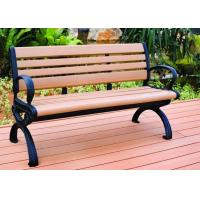 High Quality Wood Plastic Composite Wpc Garden Bench For