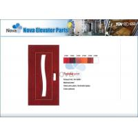 Cheap NV31-S Series Narrow / Wide Villa Elevator Automatic Door , Glass Elevator Swing Door for sale