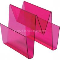 Cheap Acrylic Magazine Holder (MD-07) for sale