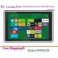 China Livefan F1 pro 64-bit Tablet PC Win8 OS Intel Celeron Processor 847 Dual Core 4G RAM  on sale