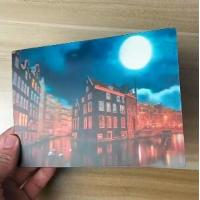 Cheap China Factory Wholesale Good Quality Custom Offset Printing Plastic PET Lenticular 3D lenticular card for sale