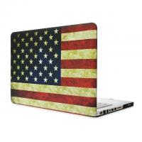 Cheap America USA Flag Rubberized Matte Hard Case Cover For Apple Macbook Air 13