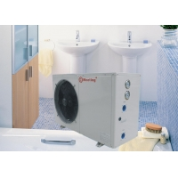 China Management Of Heating Air Source Heat Pump Unit , Bathroom Residential Heat Pump on sale