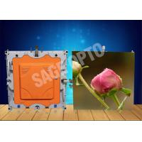 Cheap Indoor High Brightness Ultra Thin HD LED Displays 6mm seamless assembling for sale