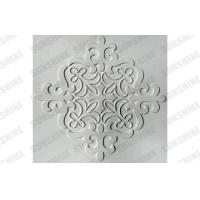 China Office Plastic Textured Bathroom Wall Panels With Flower Patterns on sale