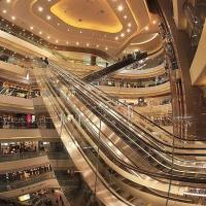 Cheap Professional Auto Stair Escalator In Shopping Mall / Modern Escalator for sale