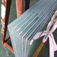 Cheap High quality safety building glass Balcony Balustrade Raling Frosted Milk White PVB Film Laminated Glass 10.38mm price for sale