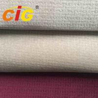 Cheap 100% Polyester  150cm width and 200gsm with 4mm foam burn-out auto Fabric For Seat Cover for sale