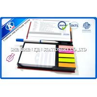 China Office Hardback Rectangle personalized sticky notes With Bank For Gift on sale