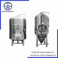 Cheap 200L / 2bbl Conical Beer Fermentation Tank Beer Wine Beverage Dairy Rockwool Insulation for sale