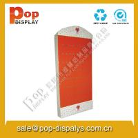 Buy cheap POP Cardboard Hook Display Stands Light Weight For Food / Retail from Wholesalers