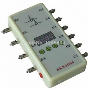 Cheap Abnormal waveform ECG signal simulator, Arrhythmia, PVC, VPC, ECG signal generator for sale