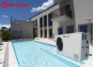 China Power World MD20D 9KW Portable Above Ground Air Source Mini Spa Pool Heater Meeting Swimming Pool Heatpump on sale