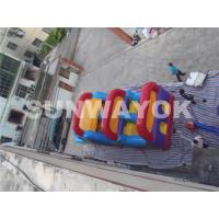 Cheap Wonderful Outside inflatable bounce house obstacle course for hire EN71 for sale